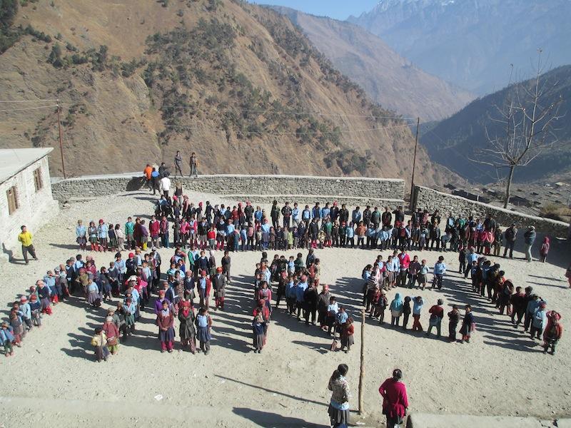 Teachers in Gatlang Merci