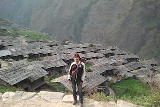 Francesco at Gatlang village