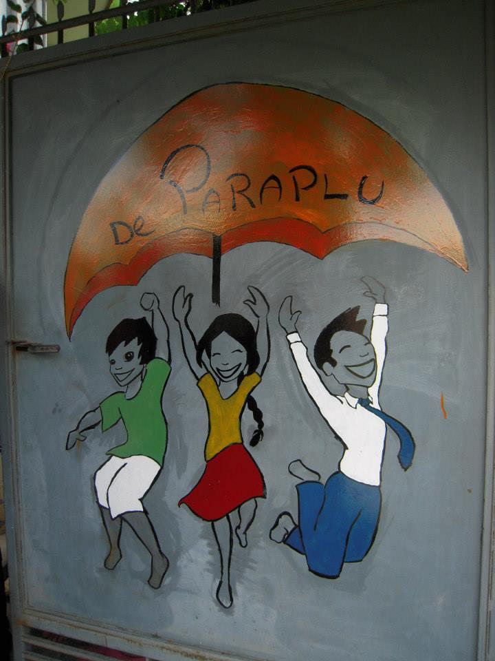 Umbrella Holland - paraplu sign